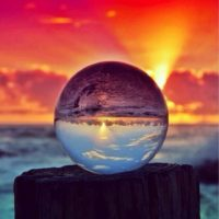CRYSTAL COLORFUL BALL